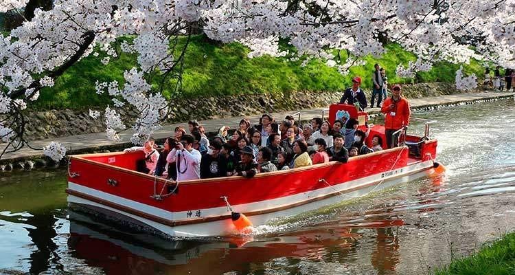 松川遊覧船「神通」
