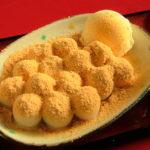 富山観光遊覧船のりば「松川茶屋」の白玉団子のわらび餅風