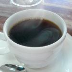 富山観光遊覧船のりば「松川茶屋」のブレンドコーヒー